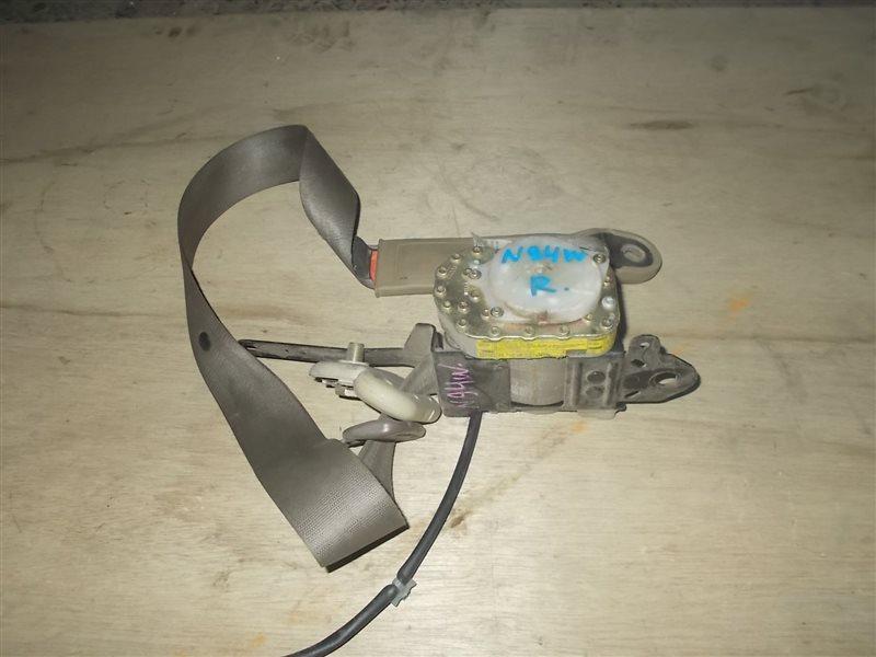 Ремень безопасности Mitsubishi Chariot N94W передний правый (б/у)