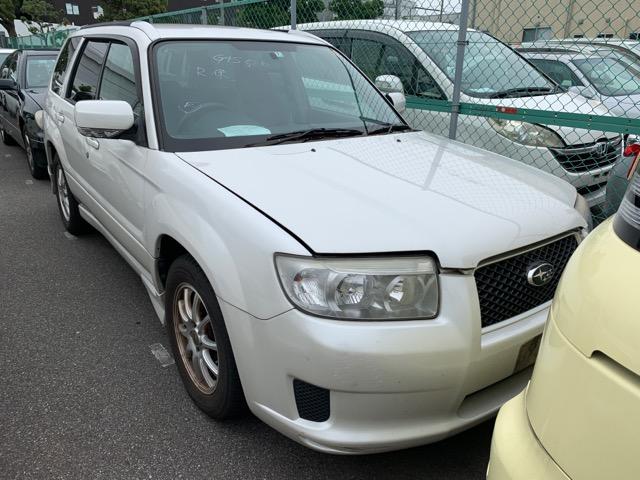 Капот Subaru Forester SG5 EJ203 2006 (б/у)