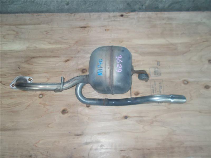 Глушитель Toyota Aqua NHP10 1NZ-FXE 2012 (б/у)
