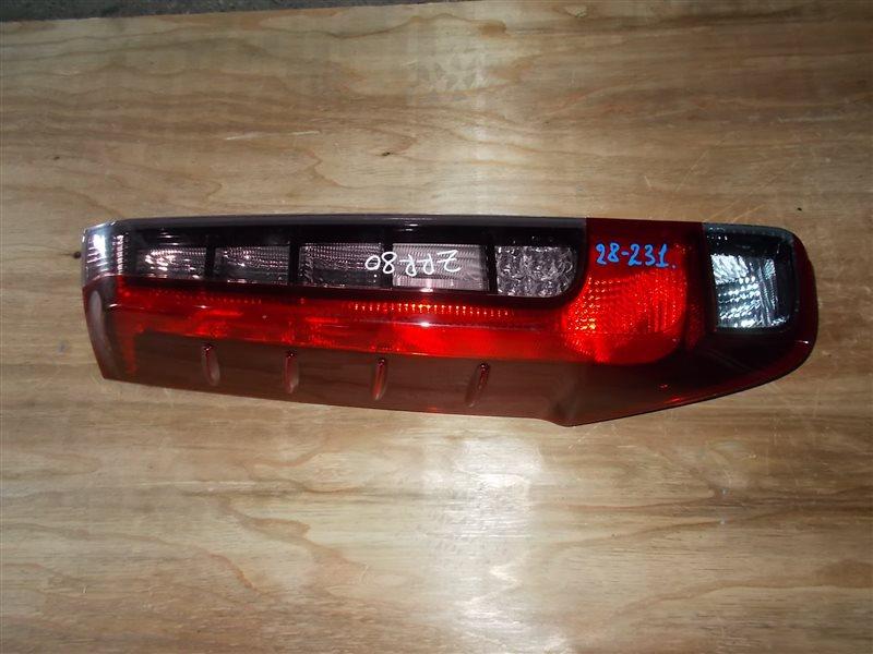 Фонарь задний Toyota Noah ZRR80 левый (б/у)
