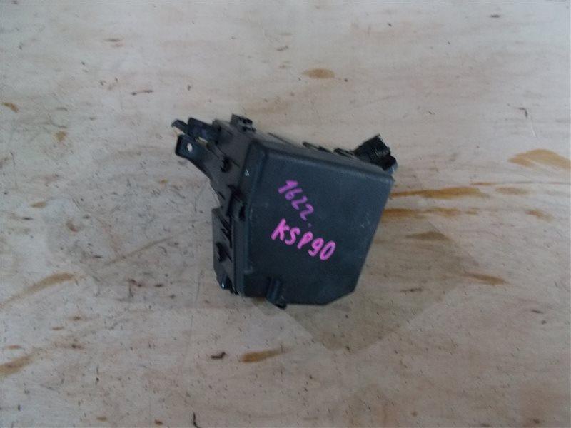 Блок предохранителей Toyota Vitz KSP90 1KR 2006 (б/у)