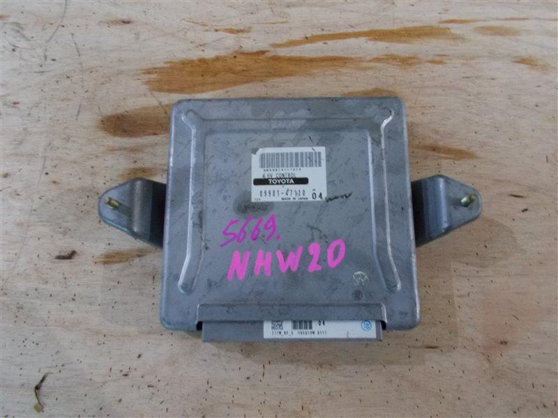 Блок управления Toyota Prius NHW20 1NZ-FXE 2005 (б/у)