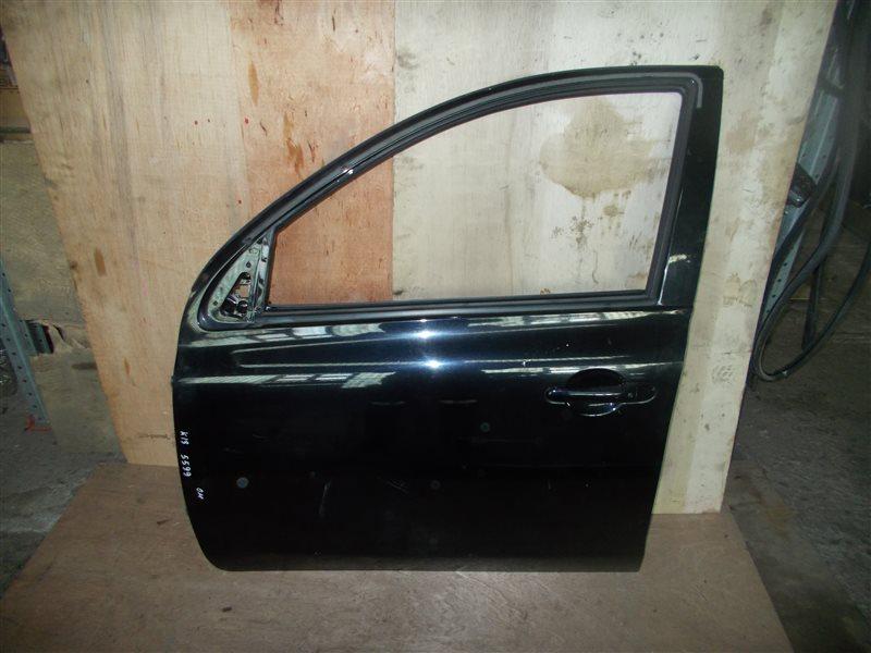Дверь Nissan March K13 HR12DE 2011 передняя левая (б/у)