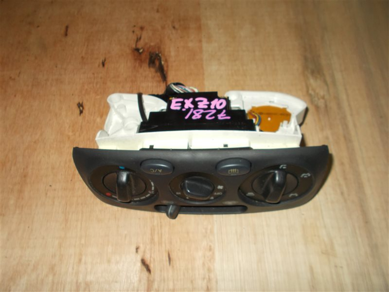 Климат-контроль Toyota Raum EXZ10 5E-FE 2001 (б/у)