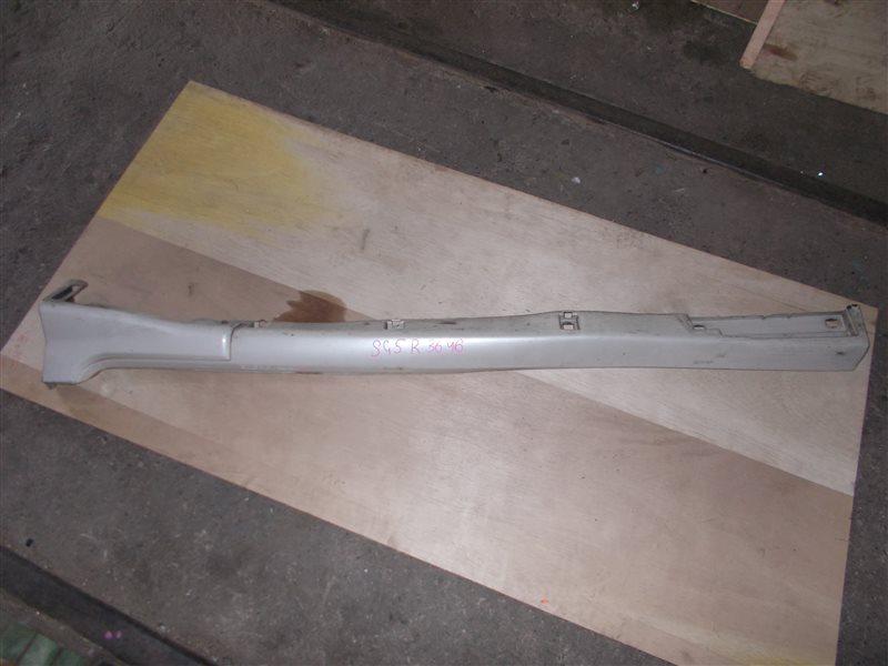 Накладка на порог Subaru Forester SG5 EJ203 2006 правая (б/у)