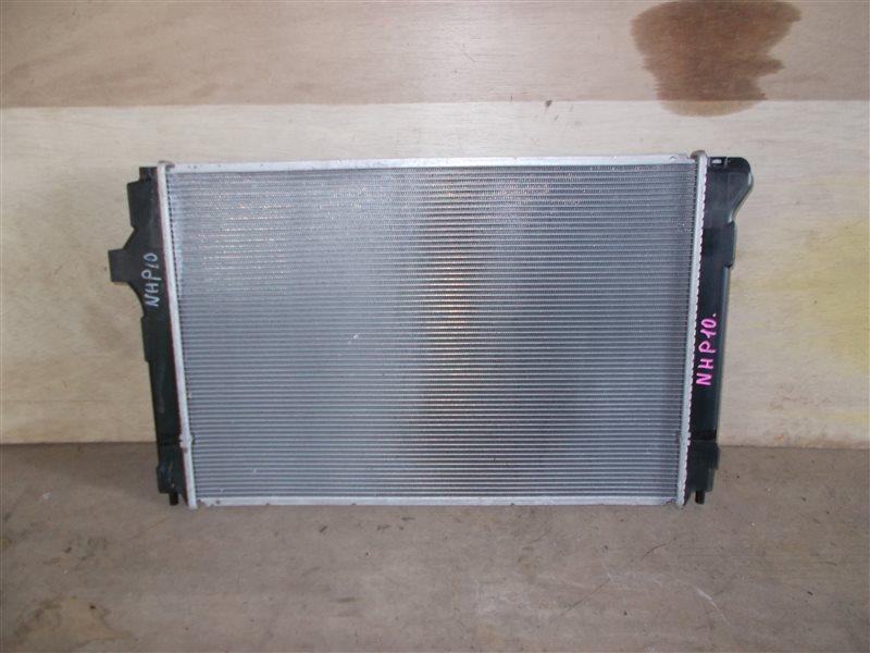 Радиатор Toyota Aqua NHP10 1NZ-FXE 2012 (б/у)