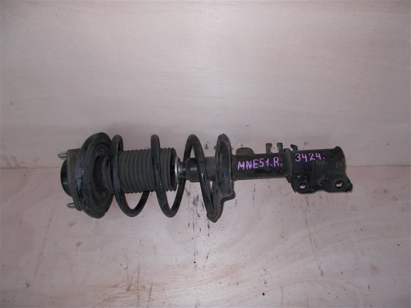 Стойка Nissan Elgrand MNE51 VQ25 2006 передняя правая (б/у)