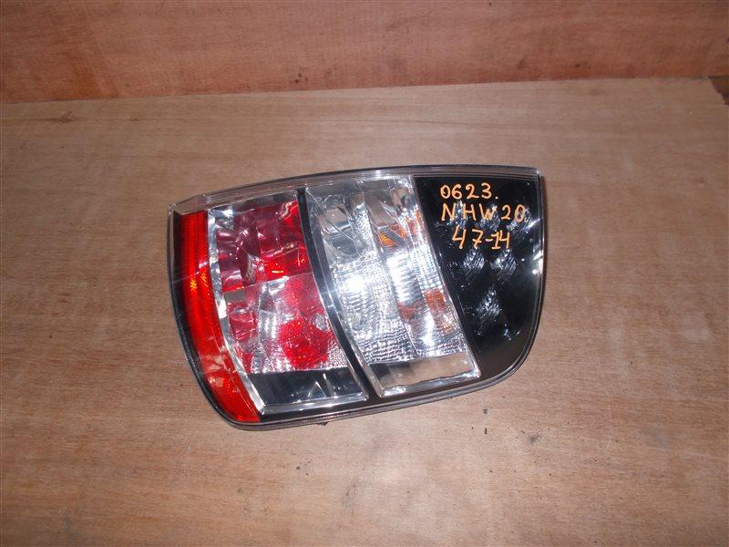 Фонарь задний Toyota Prius NHW20 1NZ-FXE 2005 правый (б/у)