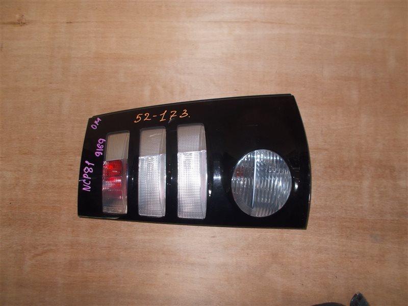 Фонарь задний Toyota Sienta NCP81 1NZ 2010 правый (б/у)
