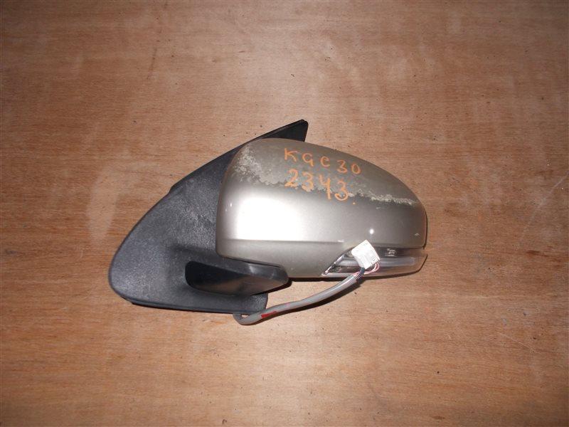 Зеркало Toyota Passo KGC30 1KR 2010 левое (б/у)