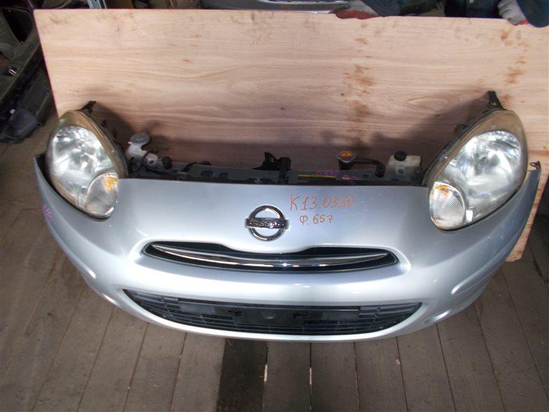 Nose cut Nissan March K13 HR12DE 2011 (б/у)
