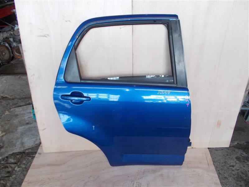 Дверь Toyota Rush J200E 3SZ-VE 2006 задняя правая (б/у)