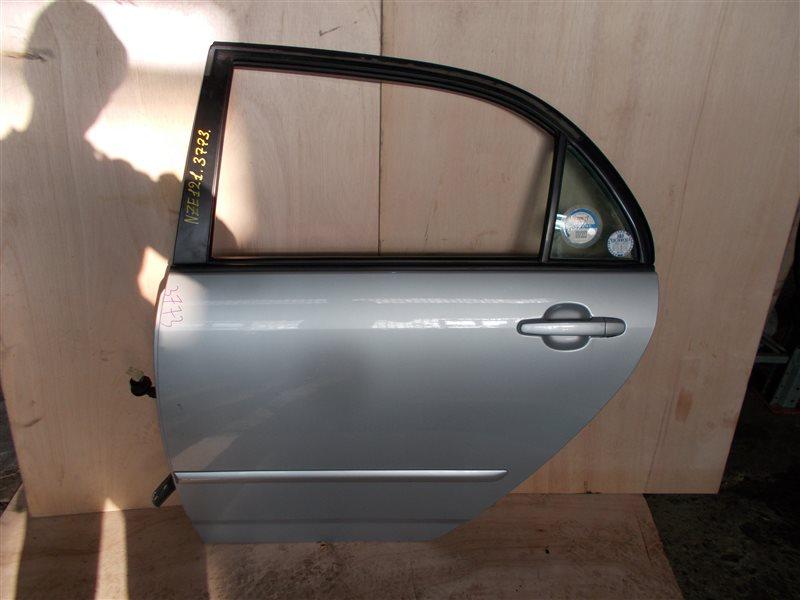 Дверь Toyota Corolla NZE121 1NZ 2002 задняя левая (б/у)