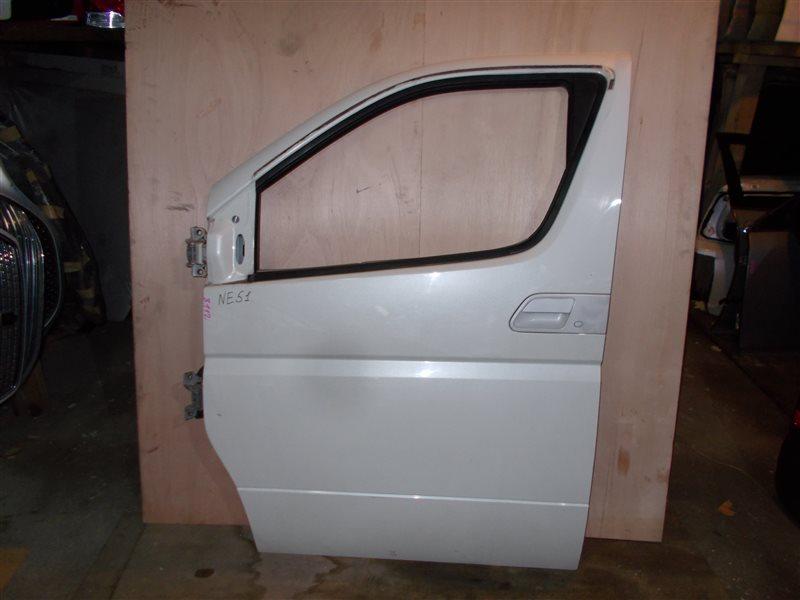 Дверь Nissan Elgrand NE51 VQ35 2003 передняя левая (б/у)