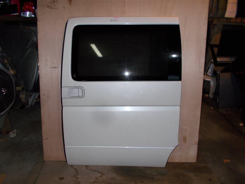 Дверь Nissan Elgrand NE51 VQ35 2003 задняя левая (б/у)