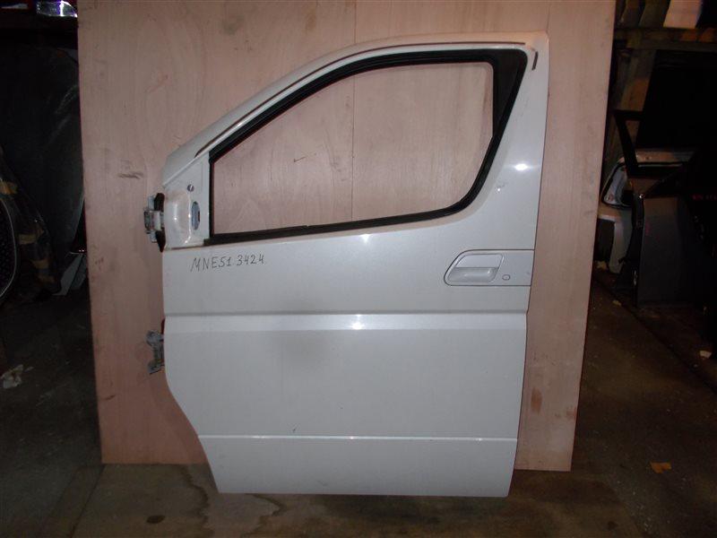 Дверь Nissan Elgrand MNE51 VQ25 2006 передняя левая (б/у)