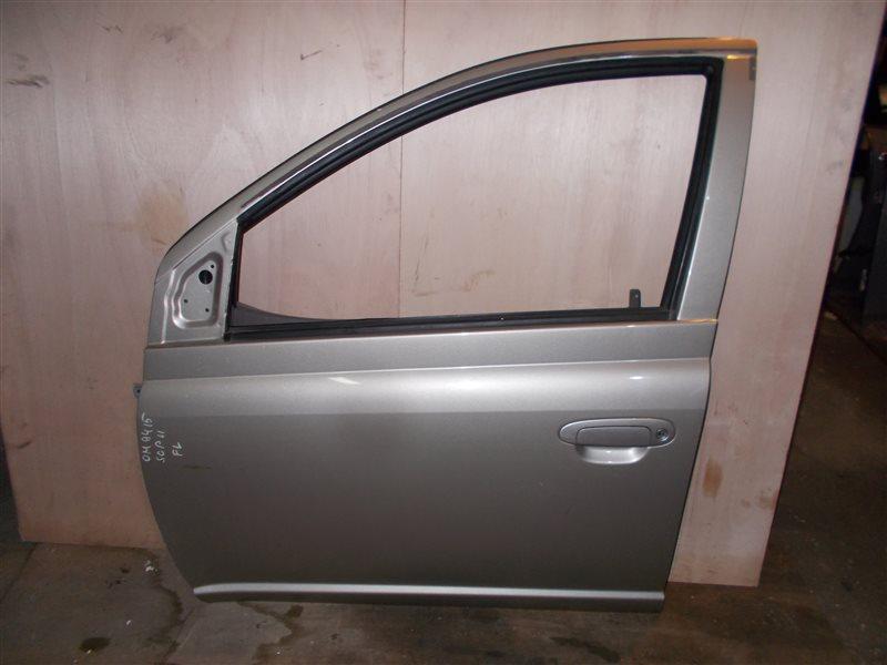 Дверь Toyota Platz SCP11 1SZ 2005 передняя левая (б/у)