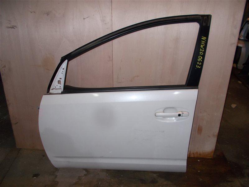 Дверь Toyota Prius NHW20 1NZ-FXE 2005 передняя левая (б/у)