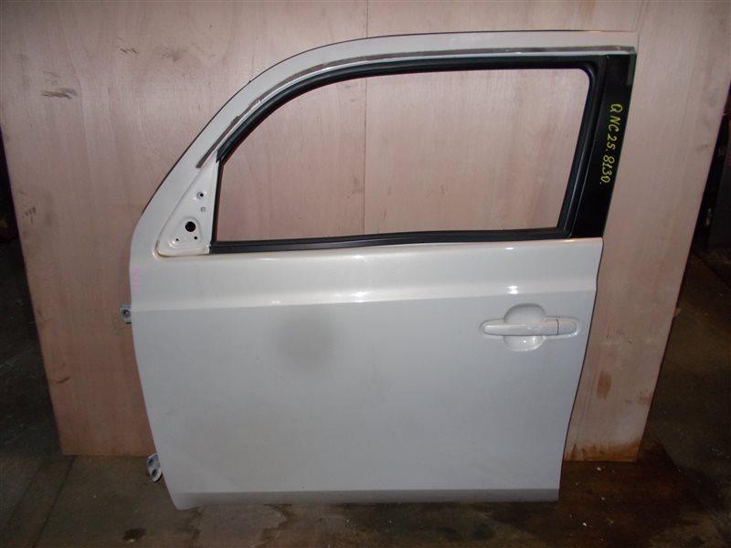 Дверь Toyota Bb QNC25 K3-VE 2010 передняя левая (б/у)
