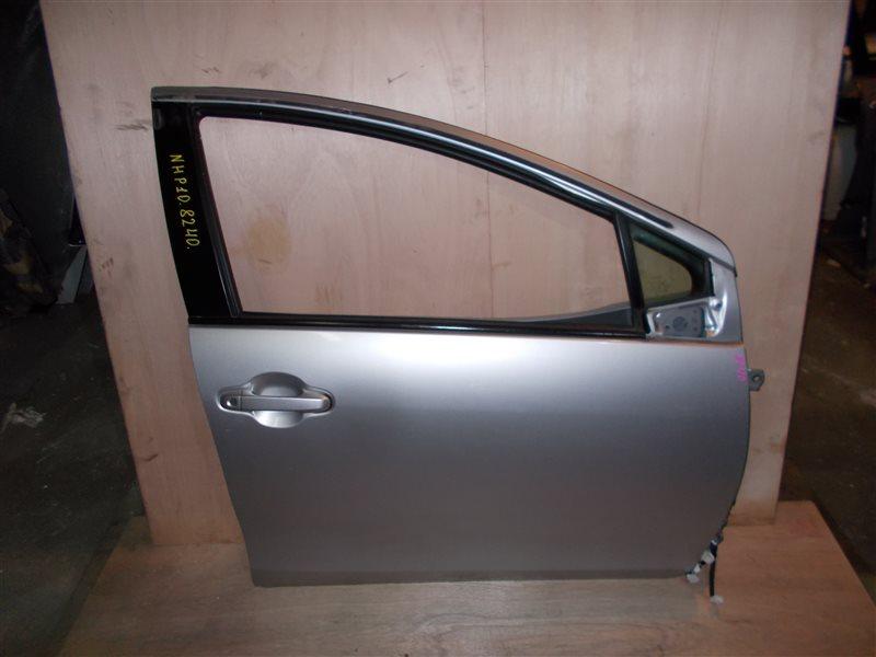 Дверь Toyota Aqua NHP10 1NZ-FXE 2012 передняя правая (б/у)