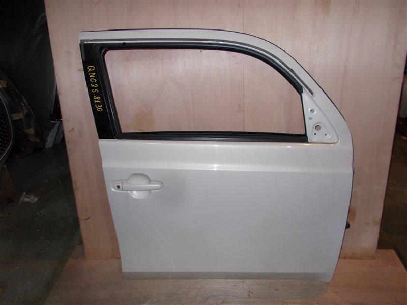 Дверь Toyota Bb QNC25 K3-VE 2010 передняя правая (б/у)