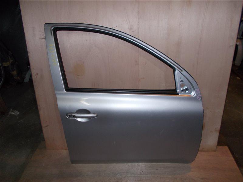 Дверь Nissan March K13 HR12DE 2011 передняя правая (б/у)