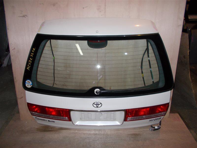 Дверь 5-я Toyota Mark Ii Qualis MCV21 2MZ-FE 1999 (б/у)