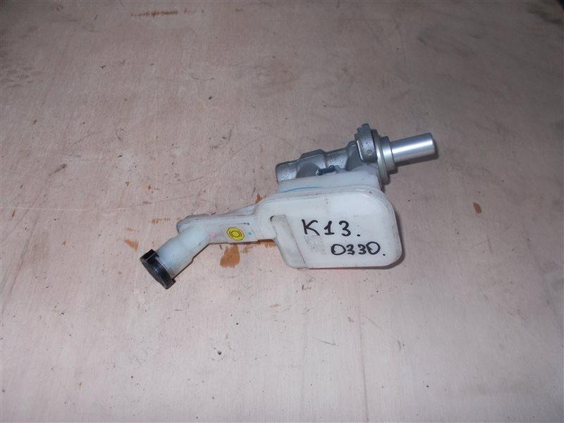 Главный тормозной цилиндр Nissan March K13 HR12DE 2011 (б/у)