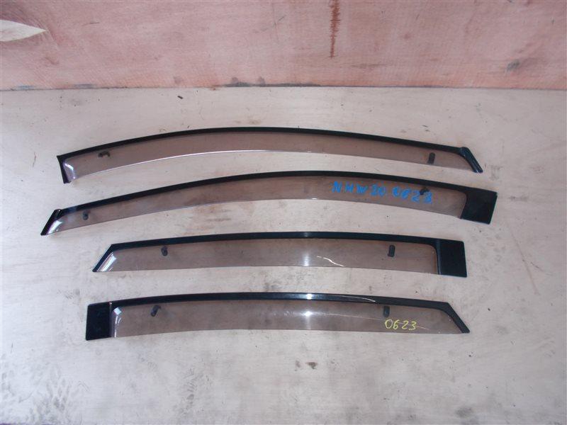 Ветровики комплект Toyota Prius NHW20 1NZ-FXE 2005 (б/у)