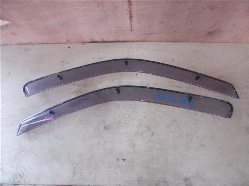 Ветровики комплект Nissan Elgrand NE51 VQ35 2003 (б/у)