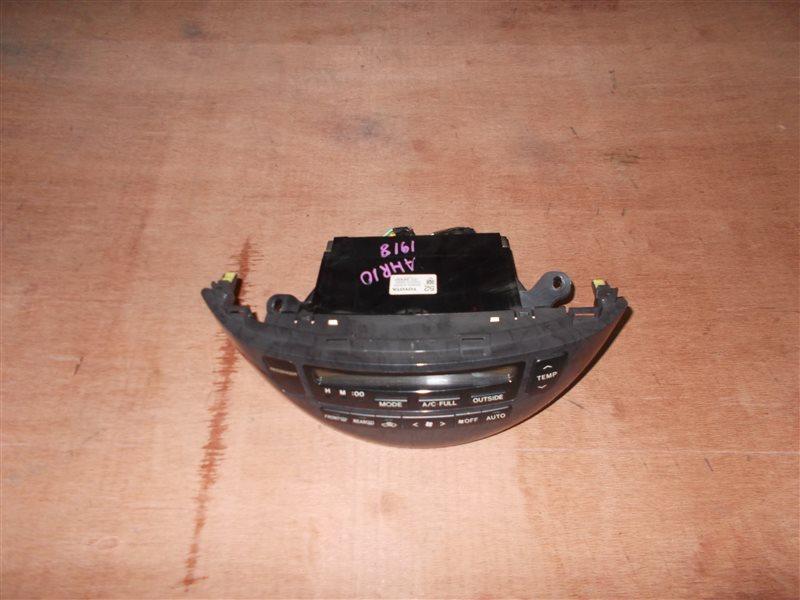 Климат-контроль Toyota Estima Hybrid AHR10 2AZ-FXE 2005 (б/у)