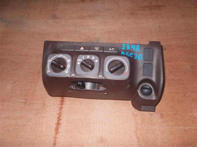 Климат-контроль Toyota Passo KGC30 1KR 2010 (б/у)