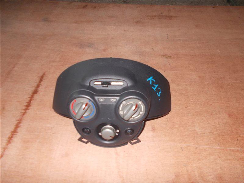 Климат-контроль Nissan March K13 HR12DE 2011 (б/у)