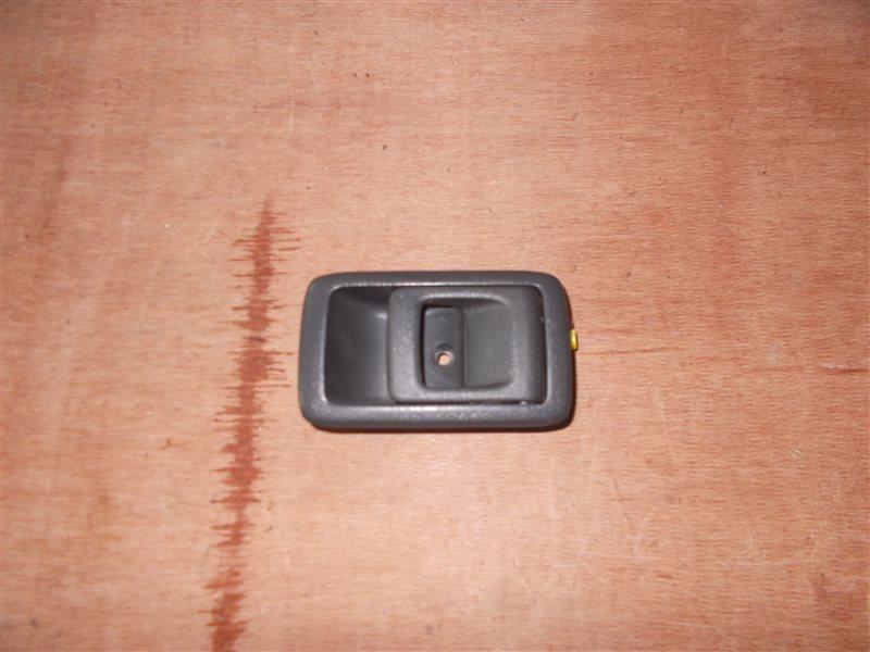 Ручка двери внутренняя Toyota Carina ST170 4S-FE 1991 задняя правая (б/у)