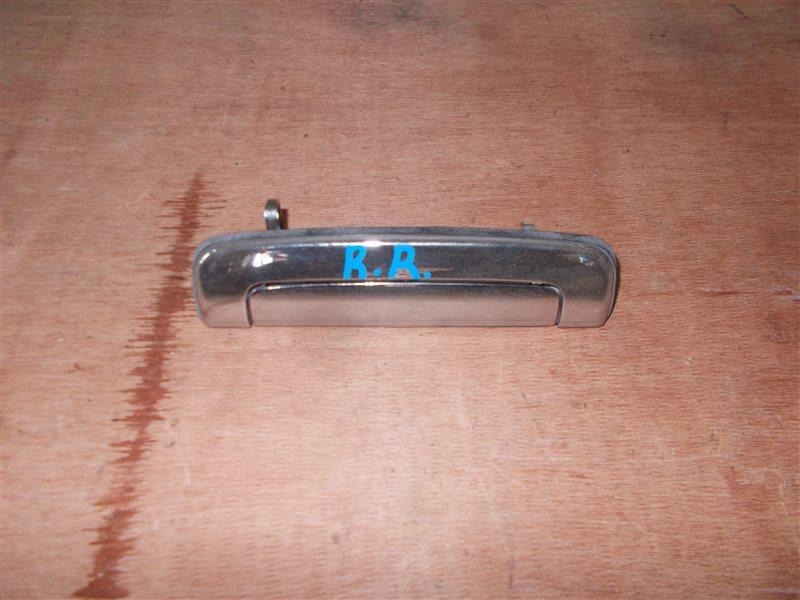 Ручка двери внешняя Toyota Carina ST170 4S-FE 1991 задняя правая (б/у)