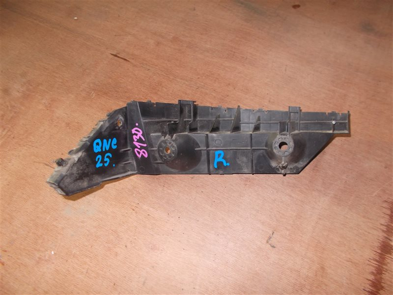 Крепление бампера Toyota Bb QNC25 K3-VE 2010 заднее правое (б/у)