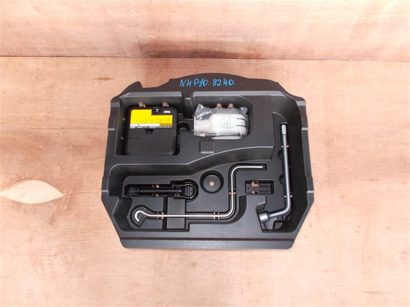 Ящик в багажник Toyota Aqua NHP10 1NZ-FXE 2012 (б/у)