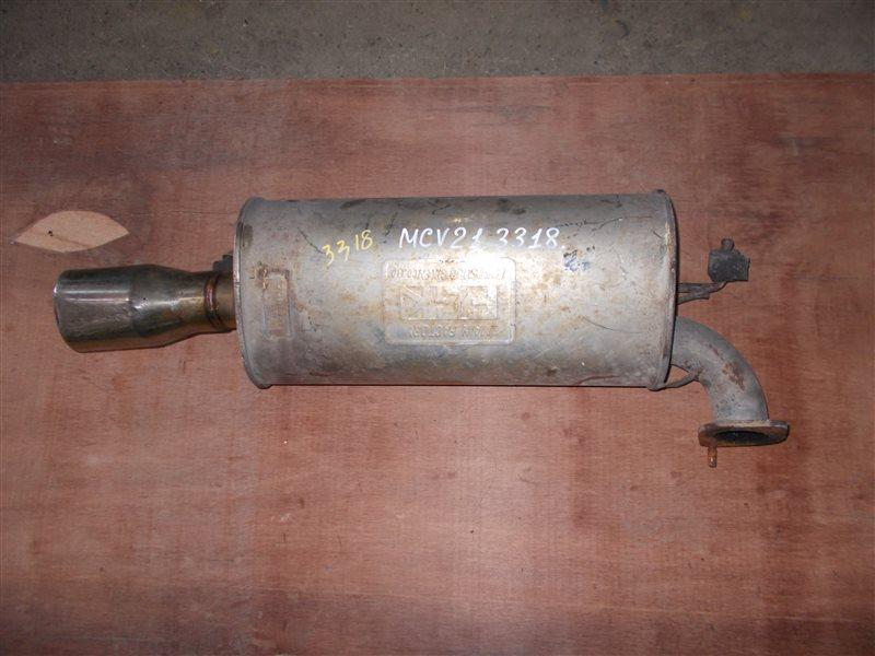 Глушитель Toyota Mark Ii Qualis MCV21 2MZ-FE 1997 (б/у)