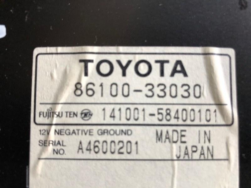 Усилитель магнитофона Toyota Mark Ii Qualis MCV21 2MZ-FE 1997 (б/у)