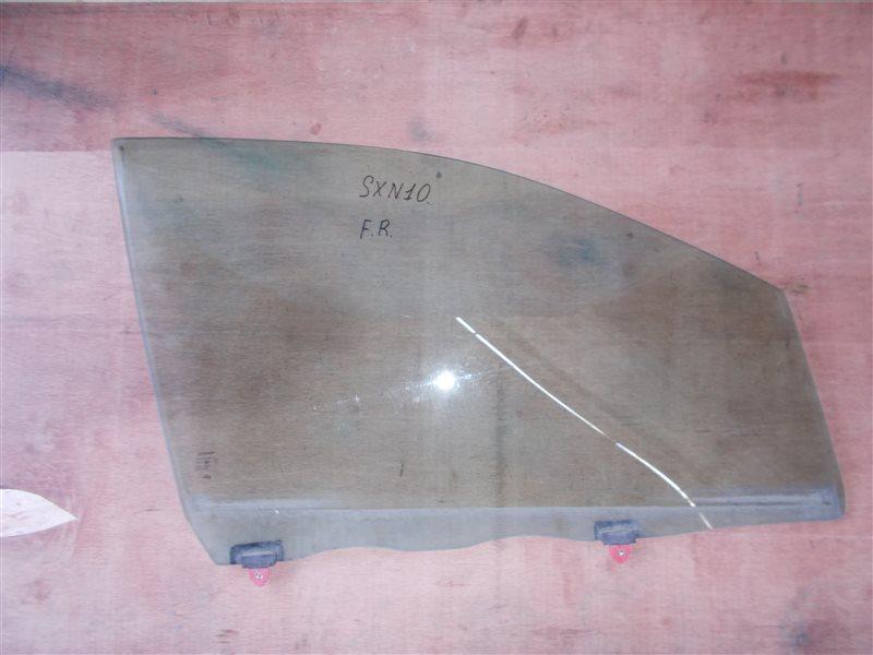 Стекло двери Toyota Nadia SXN10 переднее правое (б/у)