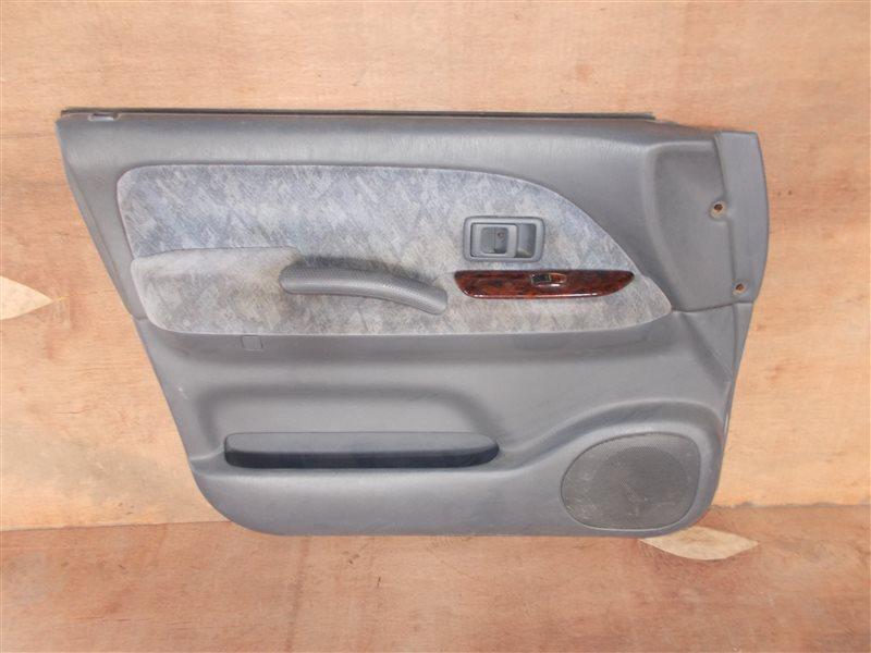 Обшивка дверей Toyota Land Cruiser Prado KZJ95 2000 передняя левая (б/у)