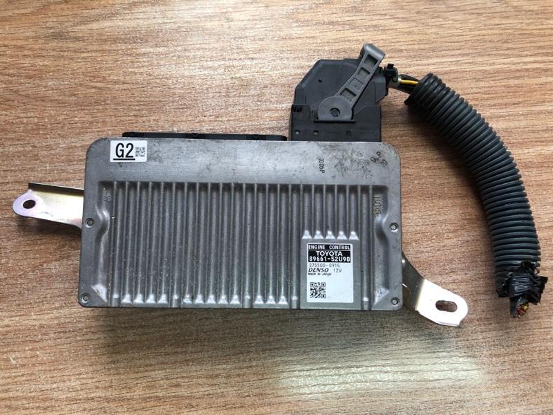Блок управления двс Toyota Aqua NHP10 1NZ-FXE 2012 (б/у)