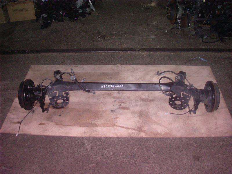 Балка со ступицами Toyota Vitz KSP90 1KR 2008 (б/у)