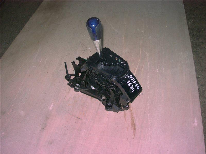 Селектор акпп Toyota Aqua NHP10 1NZ-FXE 2013 (б/у)