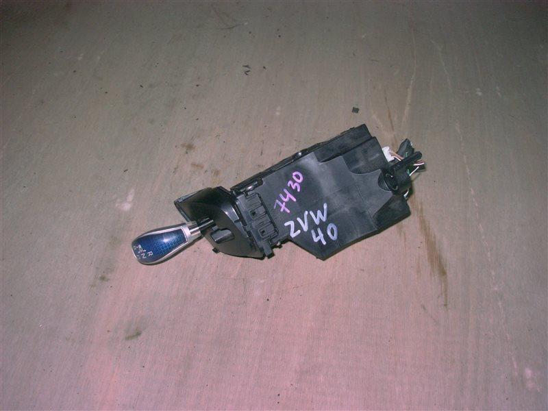 Селектор акпп Toyota Prius Alpha ZVW40 2ZR-FXE 2011 (б/у)