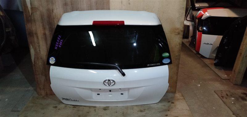 Дверь 5-я Toyota Corolla Fielder NZE161 1NZ 2014 (б/у)