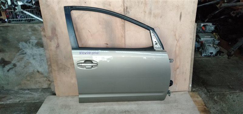 Дверь Toyota Prius NHW20 1NZ-FXE 2005 передняя правая (б/у)