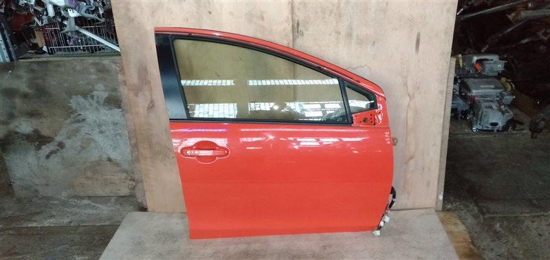 Дверь Toyota Aqua NHP10 1NZ-FXE 2013 передняя правая (б/у)