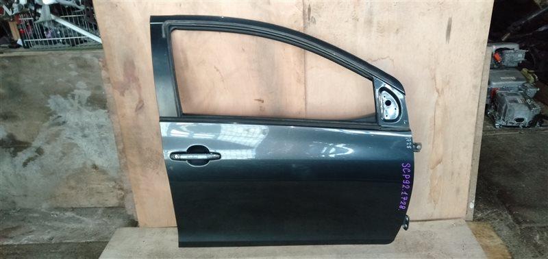 Дверь Toyota Belta SCP92 2SZ 2005 передняя правая (б/у)