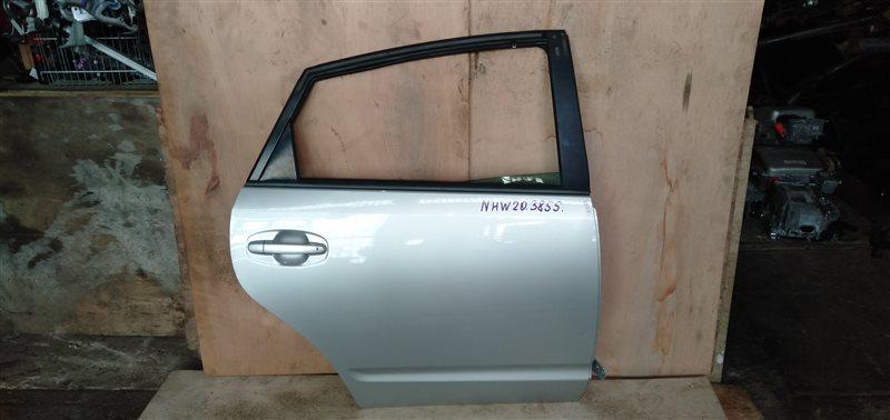 Дверь Toyota Prius NHW20 1NZ-FXE 2007 задняя правая (б/у)